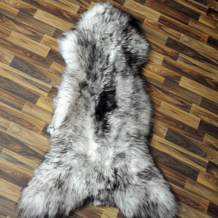 XXXL Schaffell Fell creme weiß 135x75 Couch Stuhl Auflage #3505
