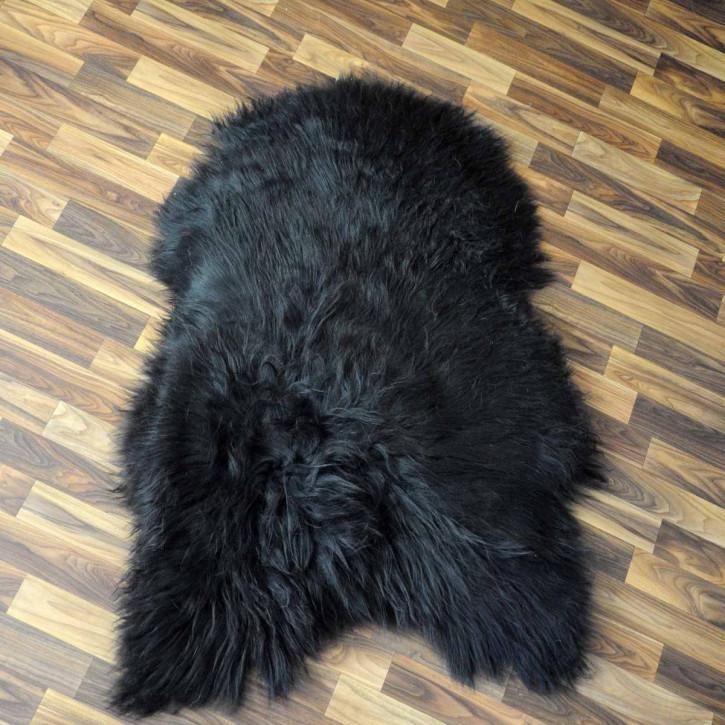 Island Schaffellteppich Felldecke 210x160 Teppich Patchwork #3530
