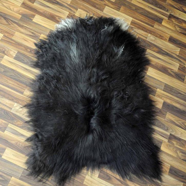 Island Schaffellteppich Felldecke 210x160 Teppich Patchwork #3531