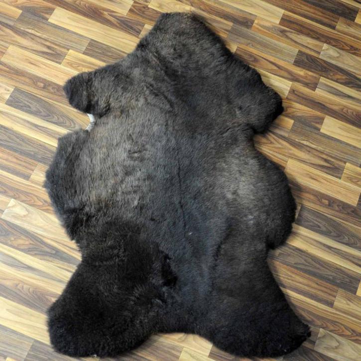 XXXL Schaffell Fell creme weiß 130x75 Couch Stuhl Auflage #3656