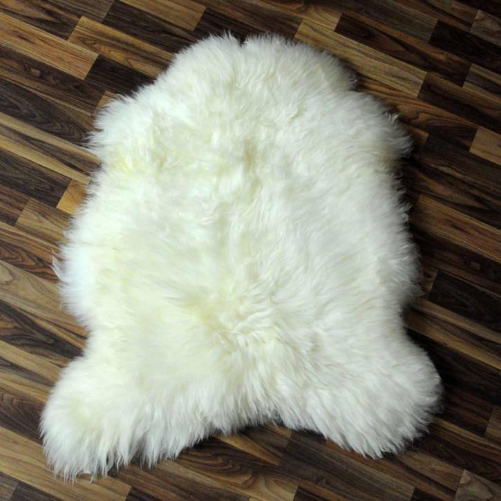 XL ÖKO Island Schaffell schwarzbraun weiß 110x80 #3870