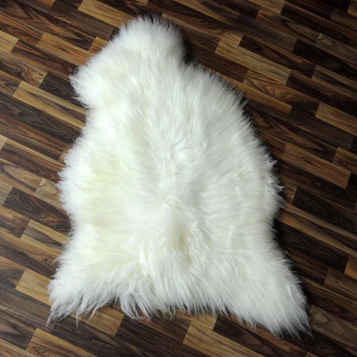 XL Schaffell Lamm medizinisch gegerbt 110x70 Betteinlage #3872