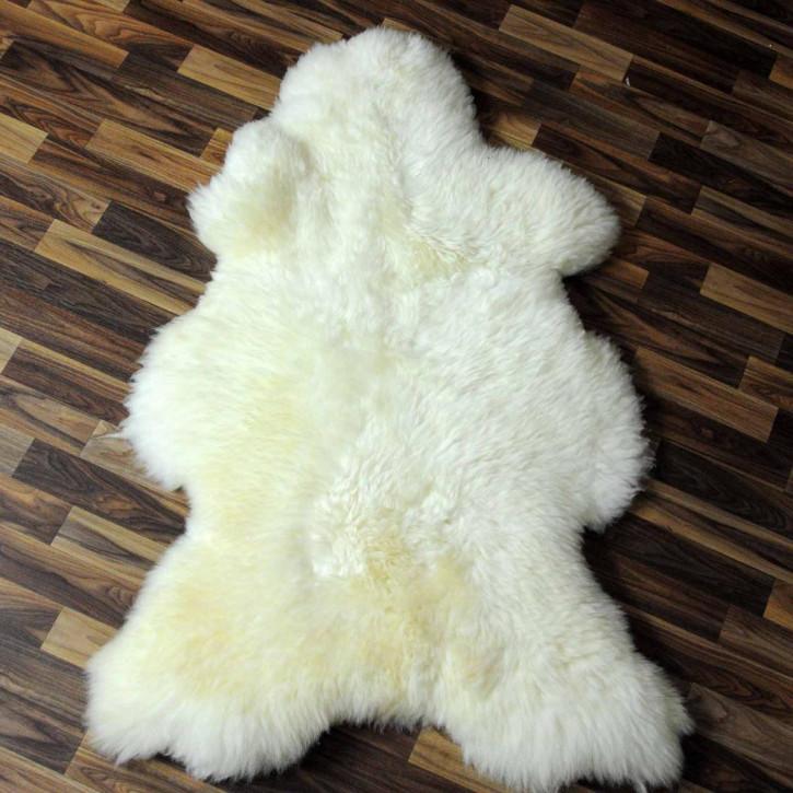 XL ÖKO Island Schaffell creme weiß 110x75 Fell Auflage #3882