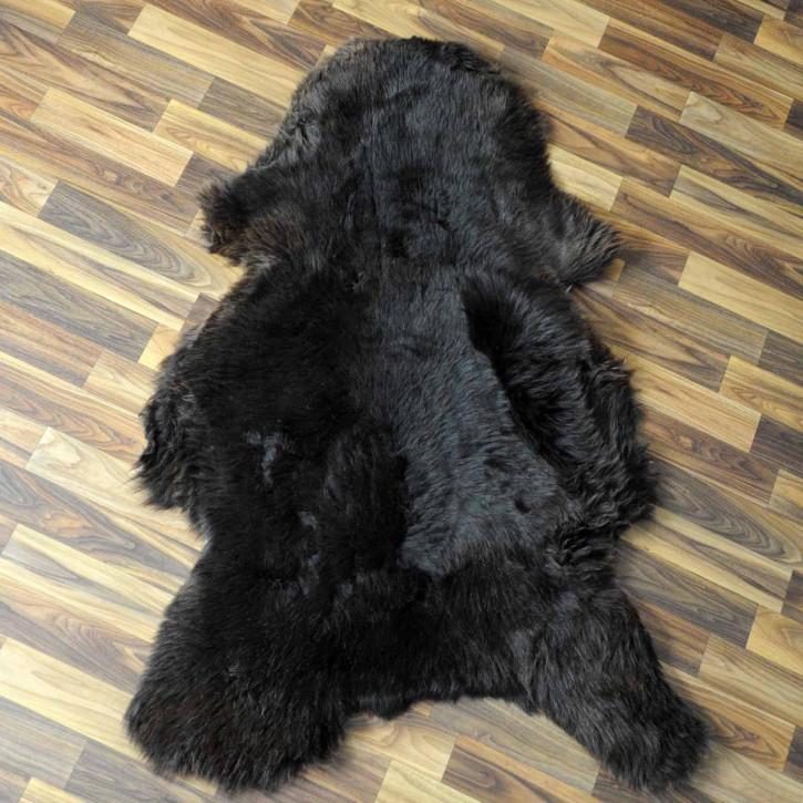 Wildschweinfell Wildschwein Fell 130x80 Mittelalter #3951
