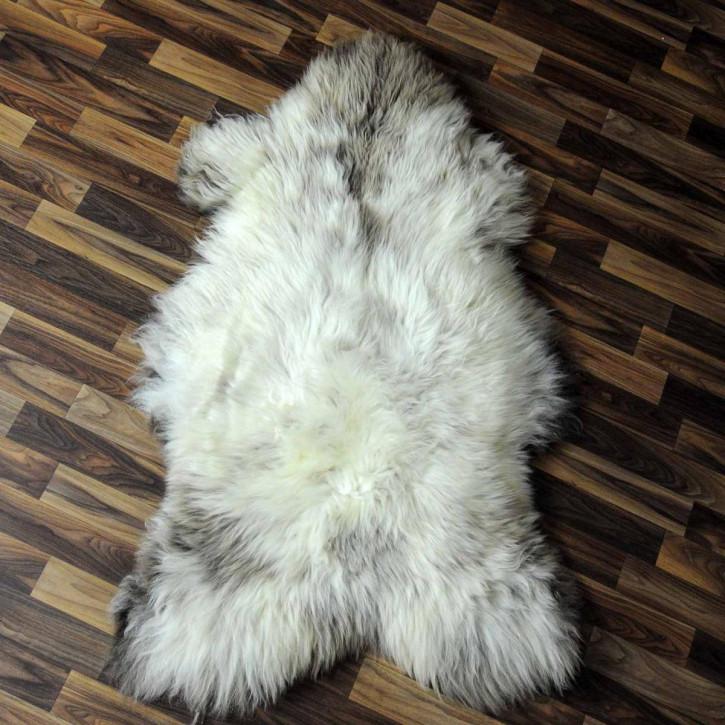 XXL ÖKO Island Schaffell creme weiß 120x70 Fell Auflage #3978
