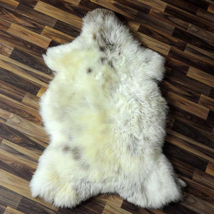 XXL ÖKO Island Schaffell creme weiß 120x70 Fell Auflage #3979