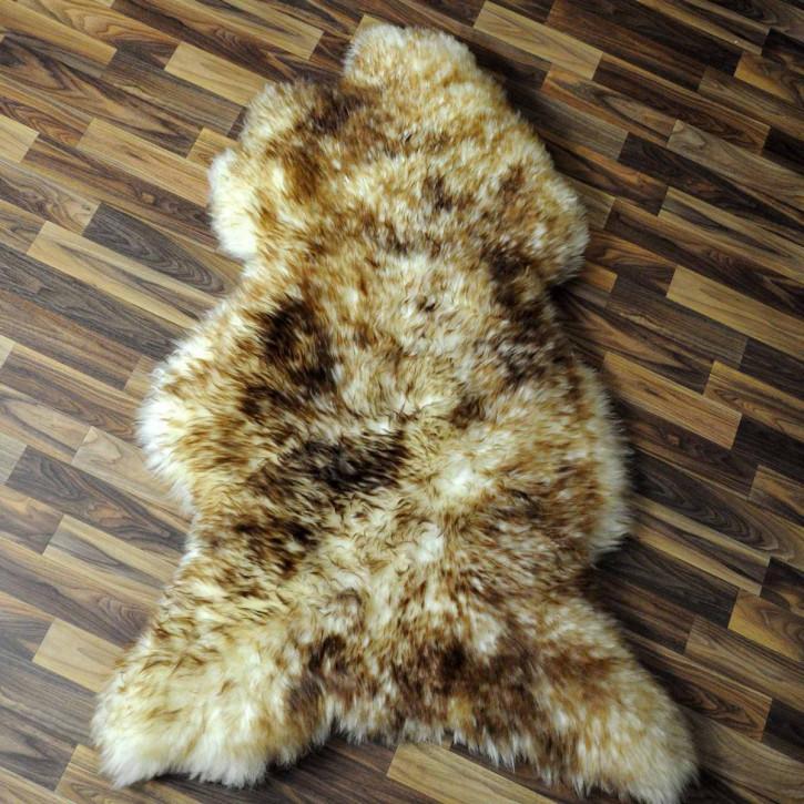 XXL ÖKO Island Schaffell creme weiß 120x75 Fell Auflage #3985