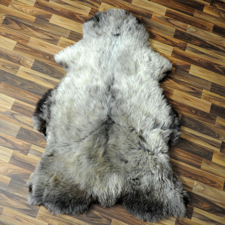 XXL ÖKO Island Schaffell braun 120x75 Krampus #4026