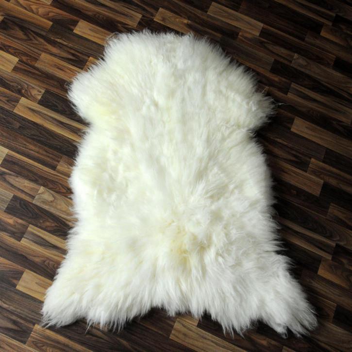 XL Island Schaffell Lamm dunkel grau 110x80 Geschenk #4070