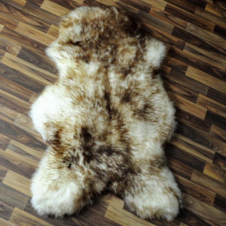 XL Island Schaffell Lamm dunkel grau 115x70 Geschenk #4073