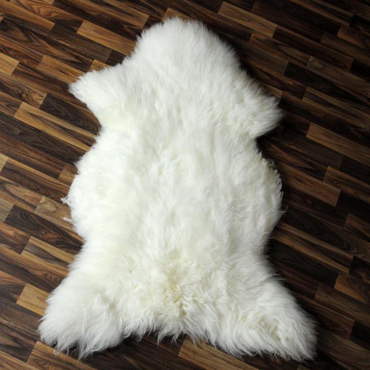 XXL Island Schaffell Lamm dunkel grau 120x65 Geschenk #4079