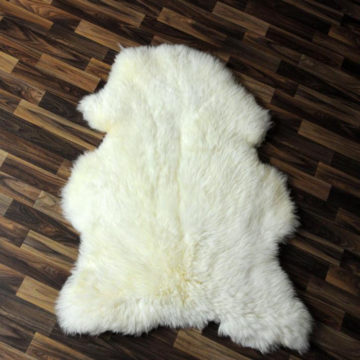 XL Island Schaffell Lamm dunkel grau 115x60 Geschenk #4080