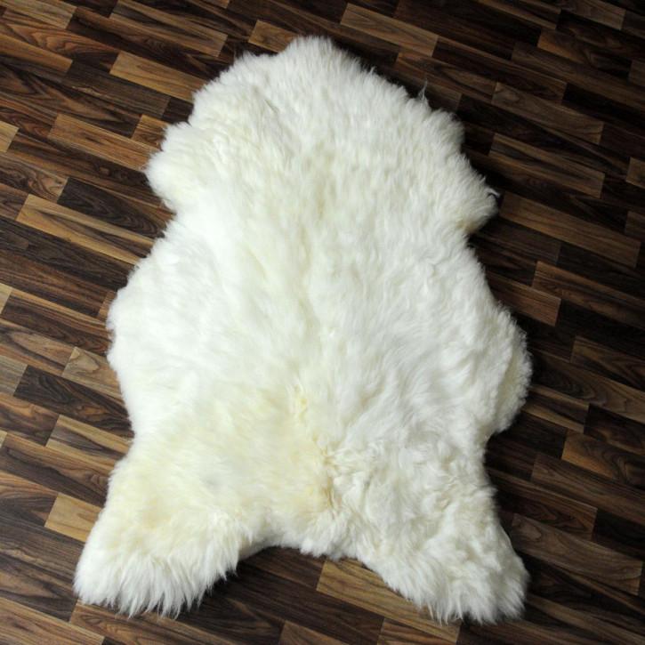 XL Island Schaffell dunkel grau 115x65 Geschenk #4352