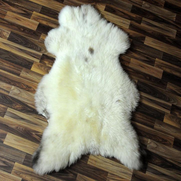 Island Schaffell Lammfell grau 95x60 Geschenk #4356