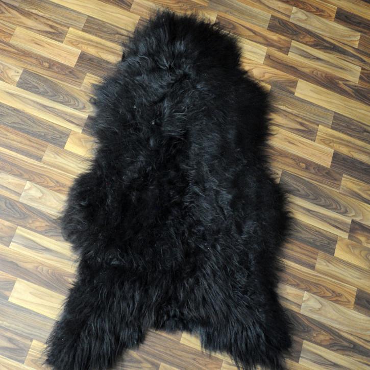 ÖKO Island Schaffell grau beige 105x65 gelockt #4459