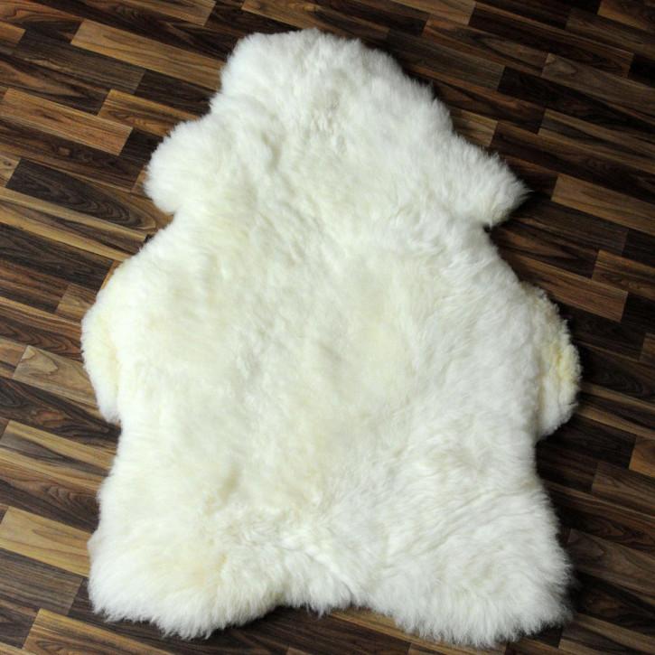 ko schaffell fell lamm braun grau 105x65 teppich 4566 4566. Black Bedroom Furniture Sets. Home Design Ideas