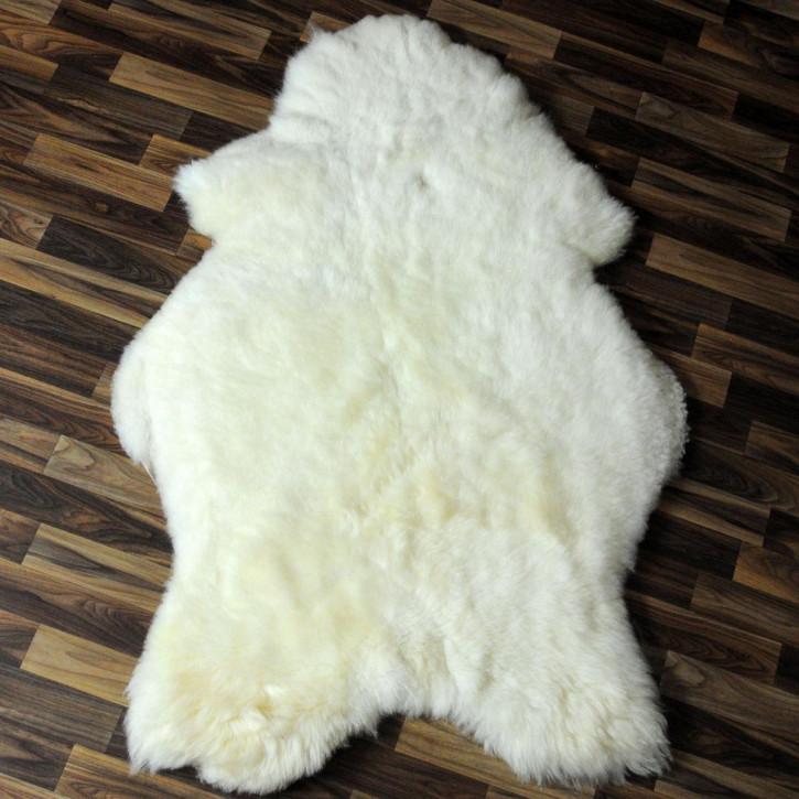 XL Schaffell Fell Lammfell braun 115x65 Stuhl Auflage #4568