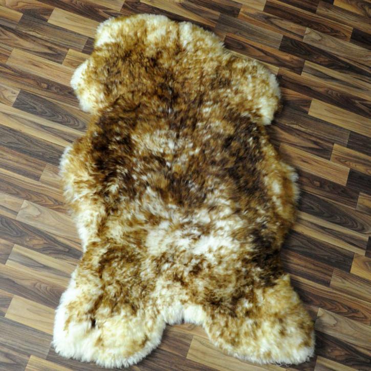 XL ÖKO Island Schaffell schwarzbraun 115x70 Perchten #4593