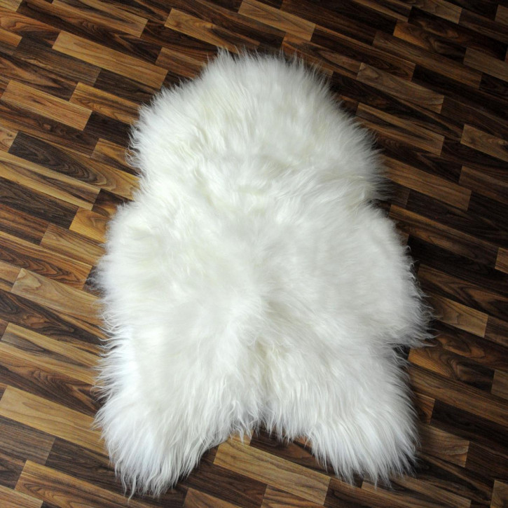 XL ÖKO Island Schaffell creme weiß 110x75 Fell Auflage #4754