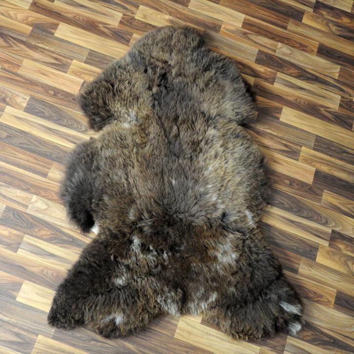 XL ÖKO Island Schaffell creme weiß 110x65 Fell Auflage #4756