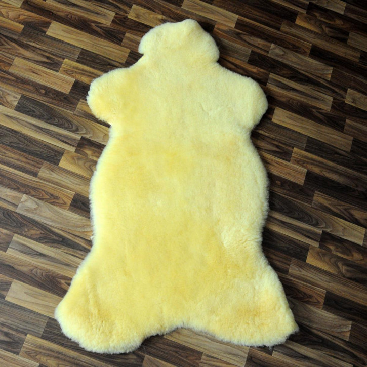 Island Schaffellteppich Felldecke 200x160 Teppich Patchwork #4790