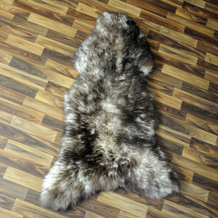 XL ÖKO Island Schaffell natur grau braun 115x75 #4795