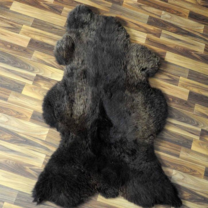 XL ÖKO Island Schaffell natur grau braun 115x70 #4798