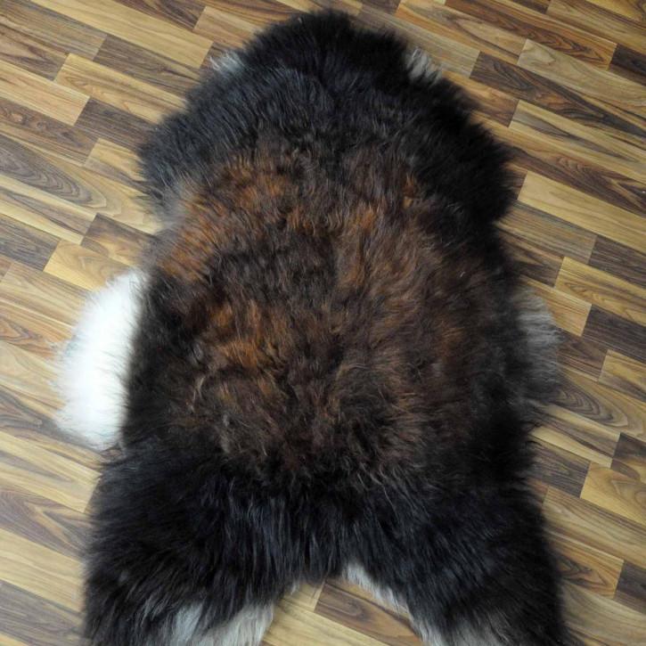 ÖKO Ziegenfell Ziege Fell 115x80 Kamindeko goatskin #4960