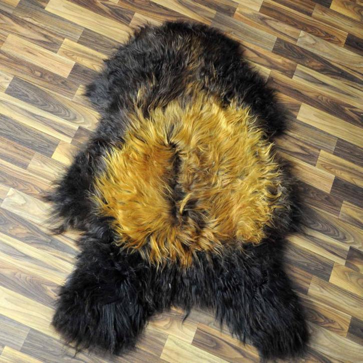 ÖKO Ziegenfell Ziege Fell 110x85 Kamindeko goatskin #4961