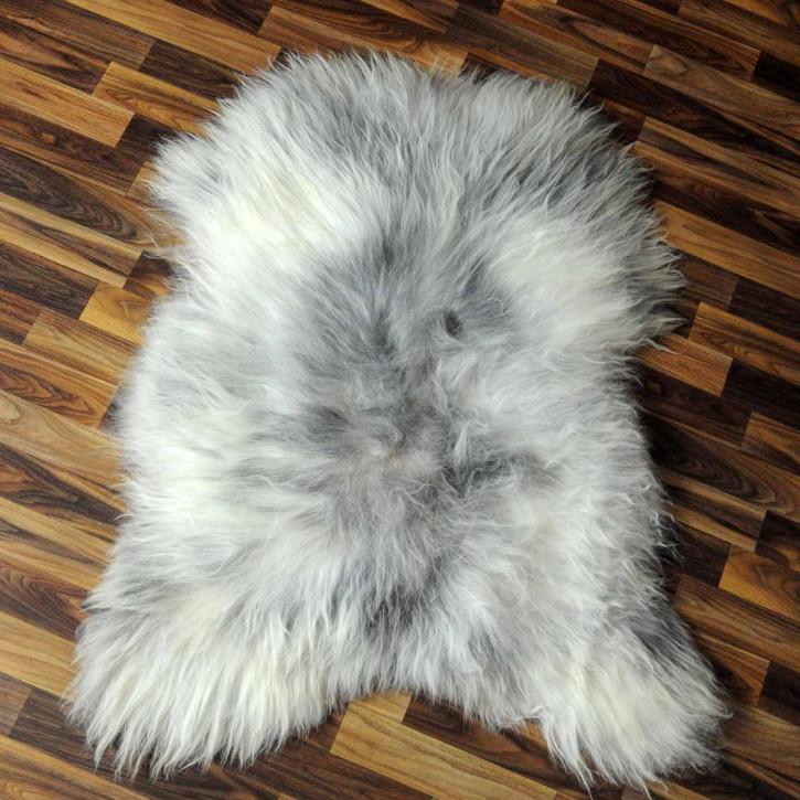 XXL ÖKO Island Schaffell natur braun weiß 125x80 Auflage #4970
