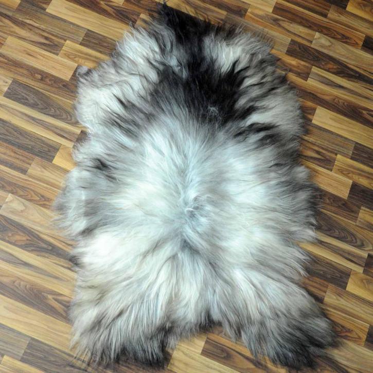 XL ÖKO Island Schaffell natur braun weiß 115x80 Auflage #4972