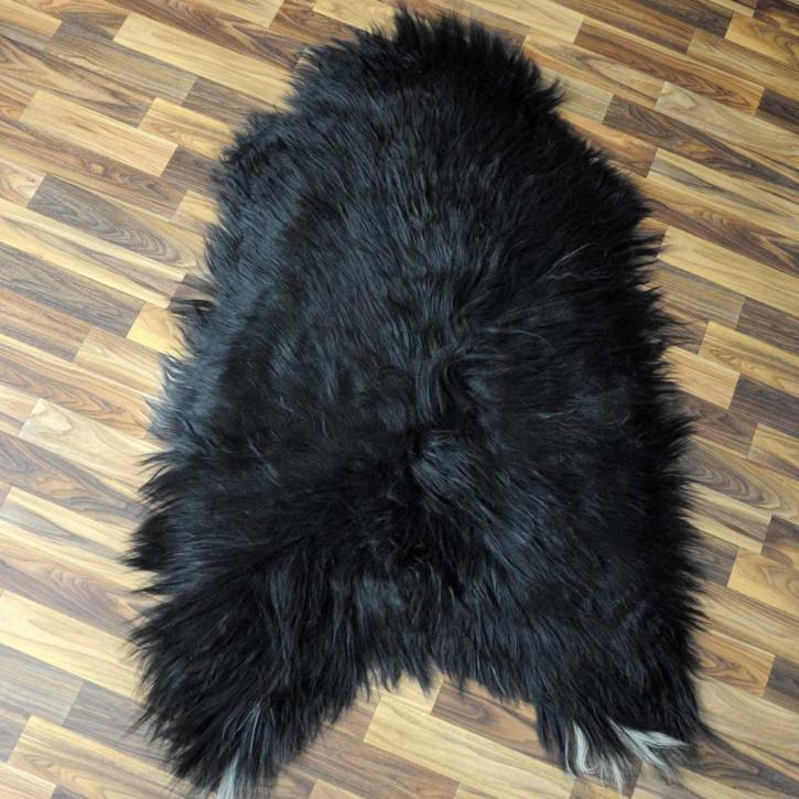 ÖKO Ziegenfell Ziege Fell 110x80 Kamindeko goatskin #5073