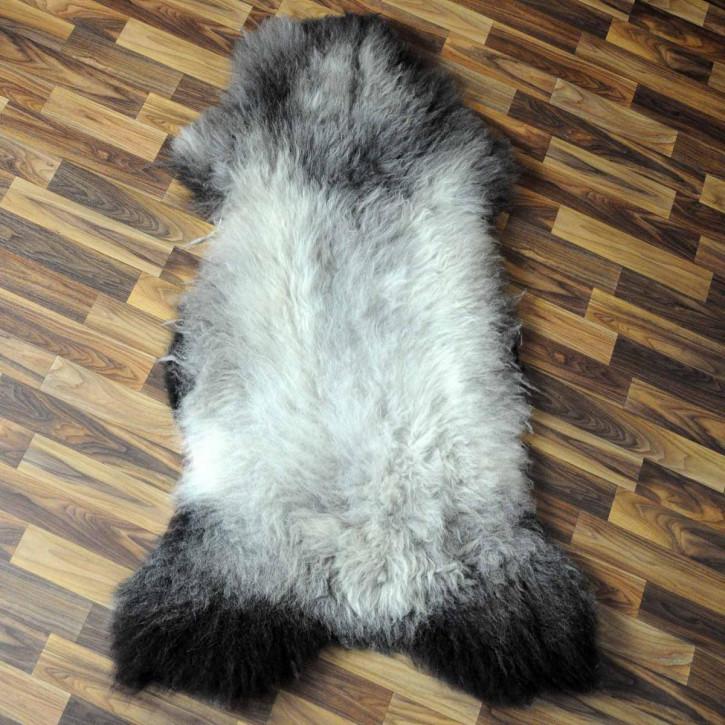 XXXL ÖKO Island Schaffell schwarz 130x80 Perchten #5090