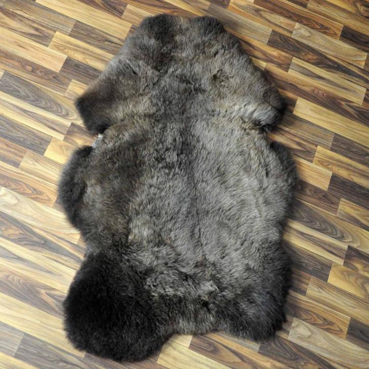 XXXL ÖKO Schaffell Fell creme weiß 130x80 sheepskin #5203