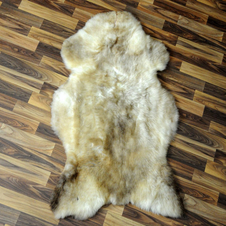 XXL ÖKO Island Schaffell creme weiß 125x80 Fell #5258