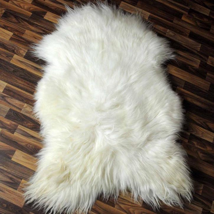 XXL ÖKO Island Schaffell schwarzbraun weiß 120x90 #5290