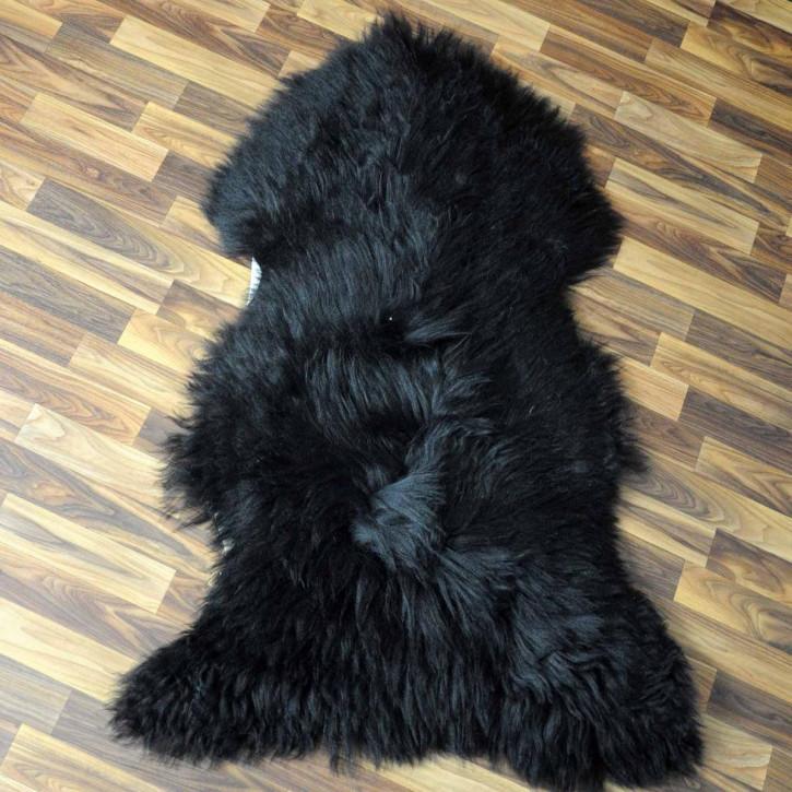 ÖKO Ziegenfell Ziege Fell 110x80 Kamindeko goatskin #5300