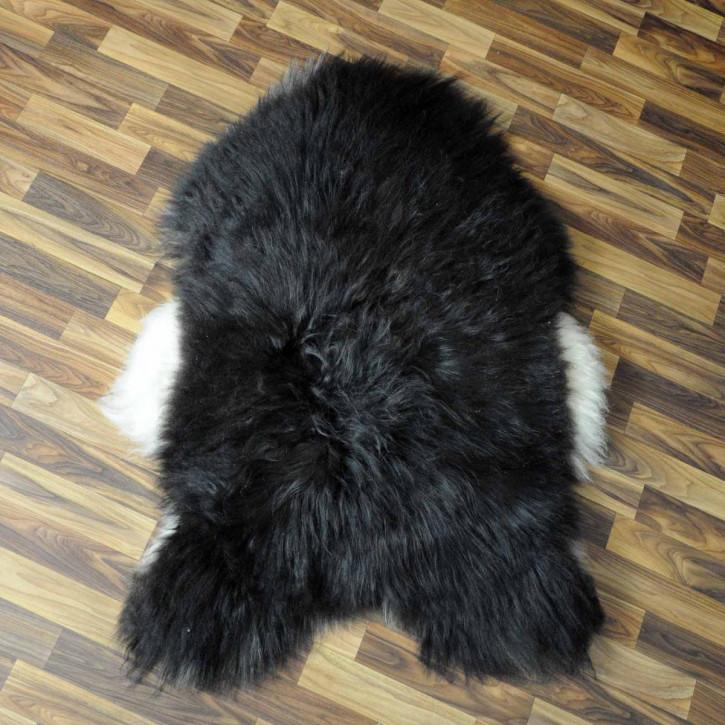 ÖKO Ziegenfell Ziege Fell 130x80 Kamindeko goatskin #5327