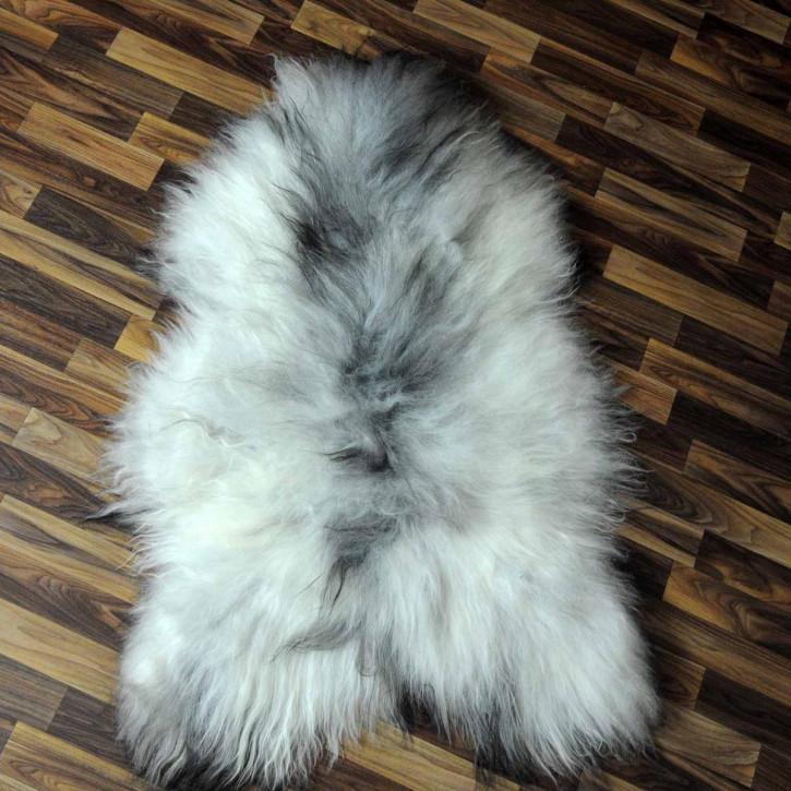 ÖKO Island Schaffell schwarzbraun 105x70 Krampus #5337