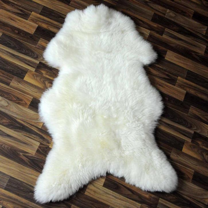XL ÖKO Schaffell Fell braun 110x70 Braunbär sheepskin #5405