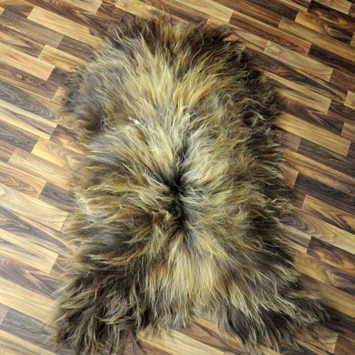 XL ÖKO Island Schaffell creme weiß 115x75 Fell Auflage #5454
