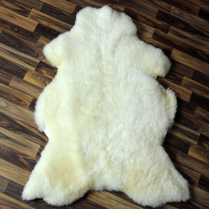 xxxl ko schaffell fell creme wei 135x75 fellteppich. Black Bedroom Furniture Sets. Home Design Ideas