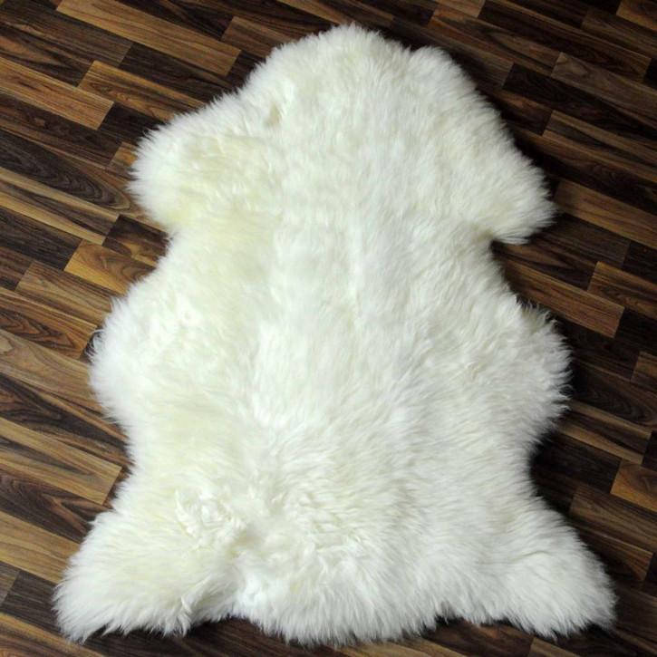 ÖKO Ziegenfell Ziege Fell 105x80 geschoren goatskin #5547
