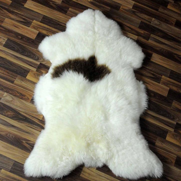 Ziegenfell Ziege Fell 120x80 Kamindeko goatskin gefärbt #5550