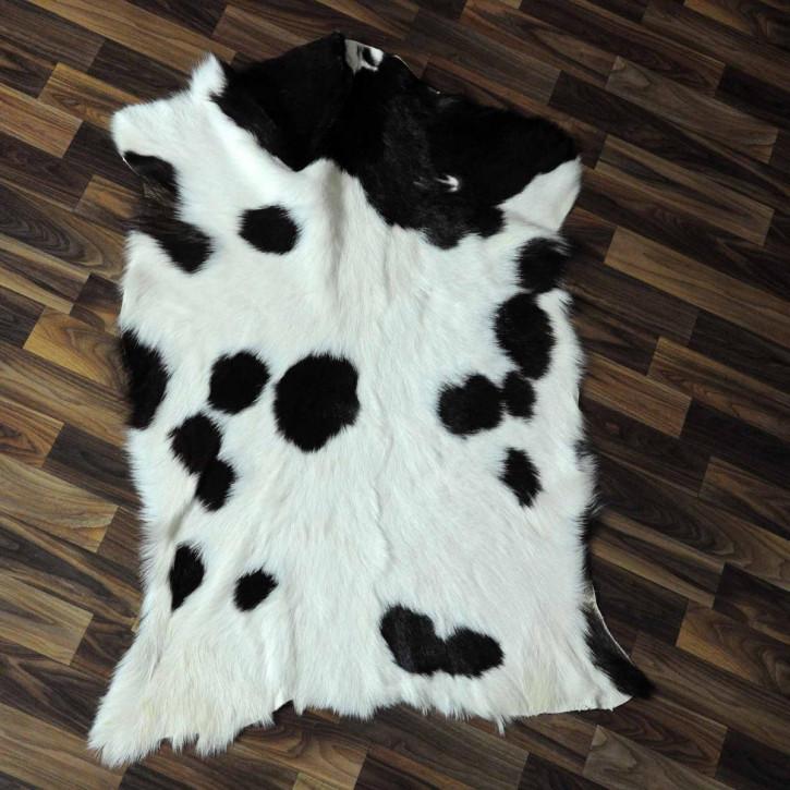 Ziegenfell Ziege Fell 130x80 Kamindeko goatskin gefärbt #5562