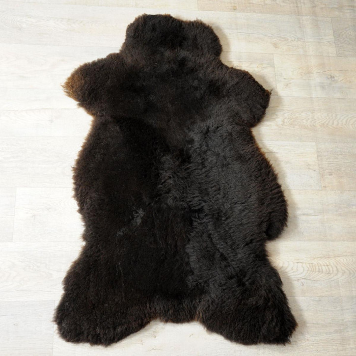 Island Schaffell Lammfell grau 95x65 Geschenk sheepskin #5616