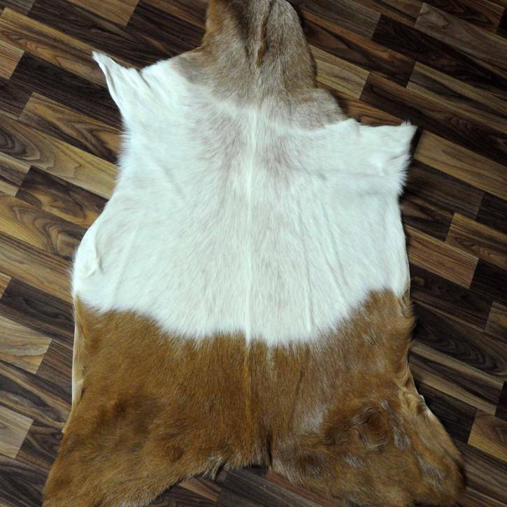 Island Schaffell Lammfell grau 95x65 Geschenk sheepskin #5621