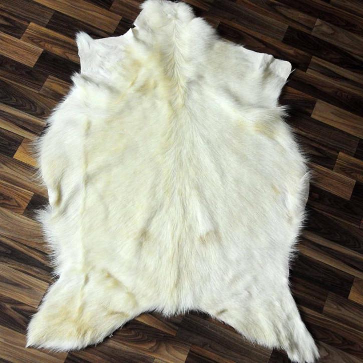 Island Schaffell Lammfell grau 95x60 Geschenk sheepskin #5623