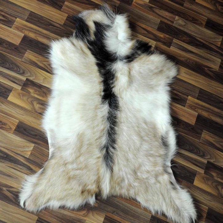 Island Schaffell Lammfell grau 95x55 Geschenk sheepskin #5625