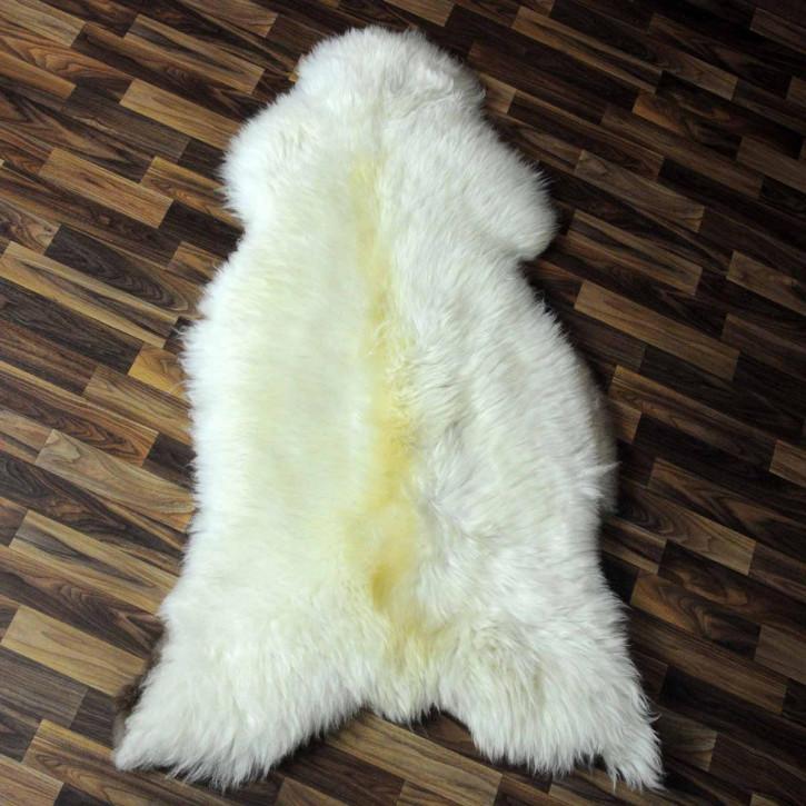 XL ÖKO Schaffell Fell braun 115x70 Braunbär sheepskin #5722